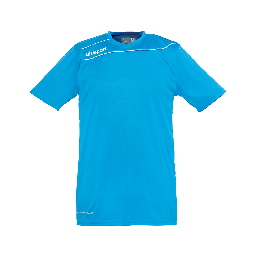 Uhlsport Stream 3.0 Shirt - Cyan & Blanc
