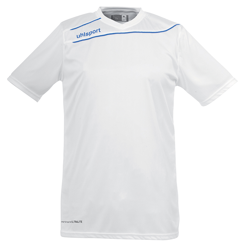 Uhlsport Stream 3.0 Shirt - Blanc & Azur