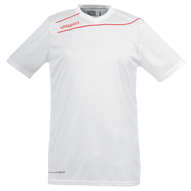Uhlsport Stream 3.0 Shirt - Blanc & Rouge