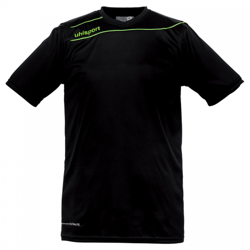 Uhlsport Stream 3.0 Shirt - Noir & Vert Flash
