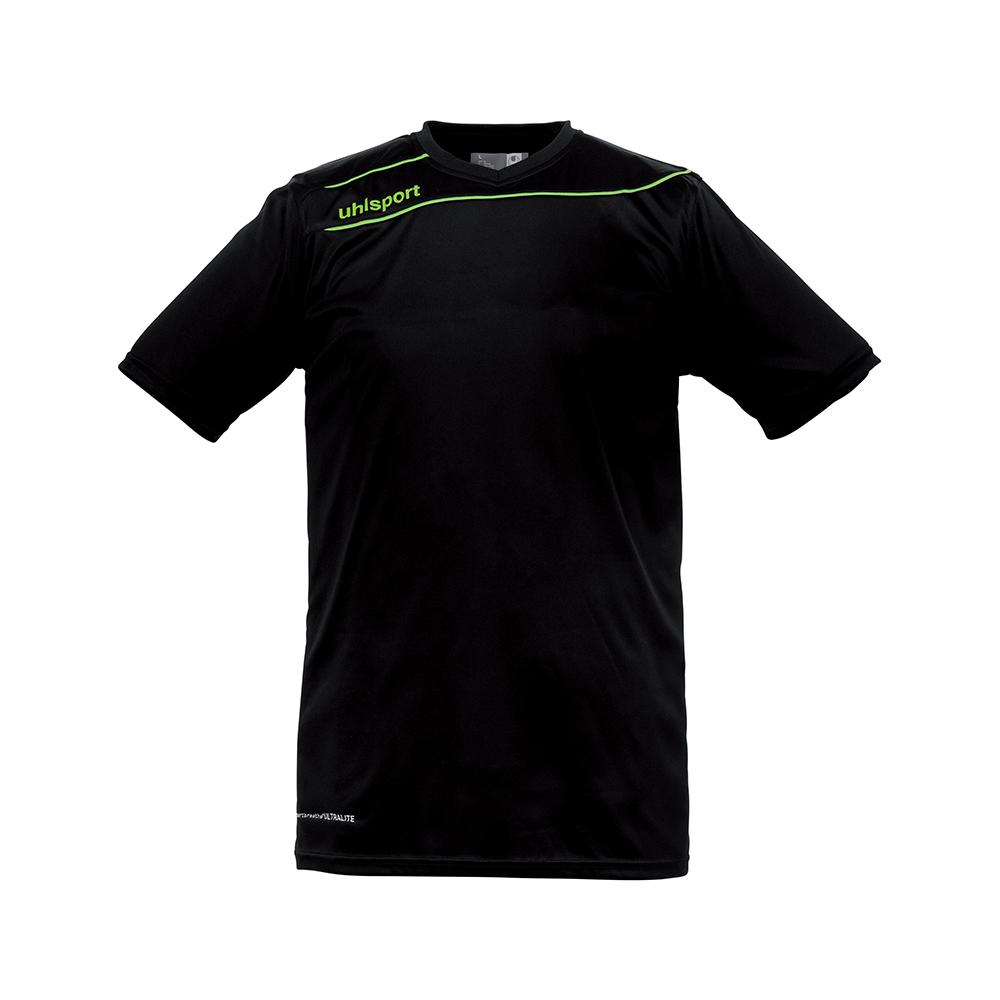 Uhlsport Stream 3.0 Shirt - Noir & Vert Flash