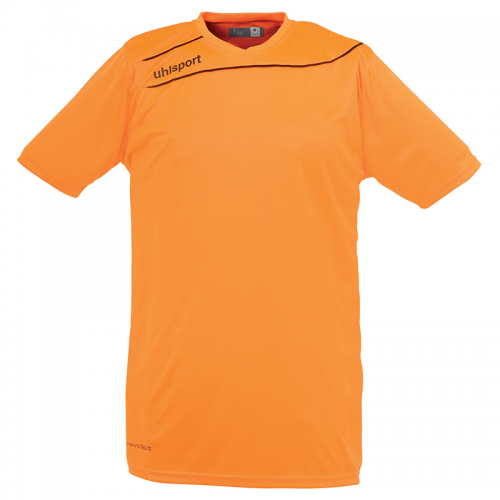 Uhlsport Stream 3.0 Shirt - Orange Fluo & Noir