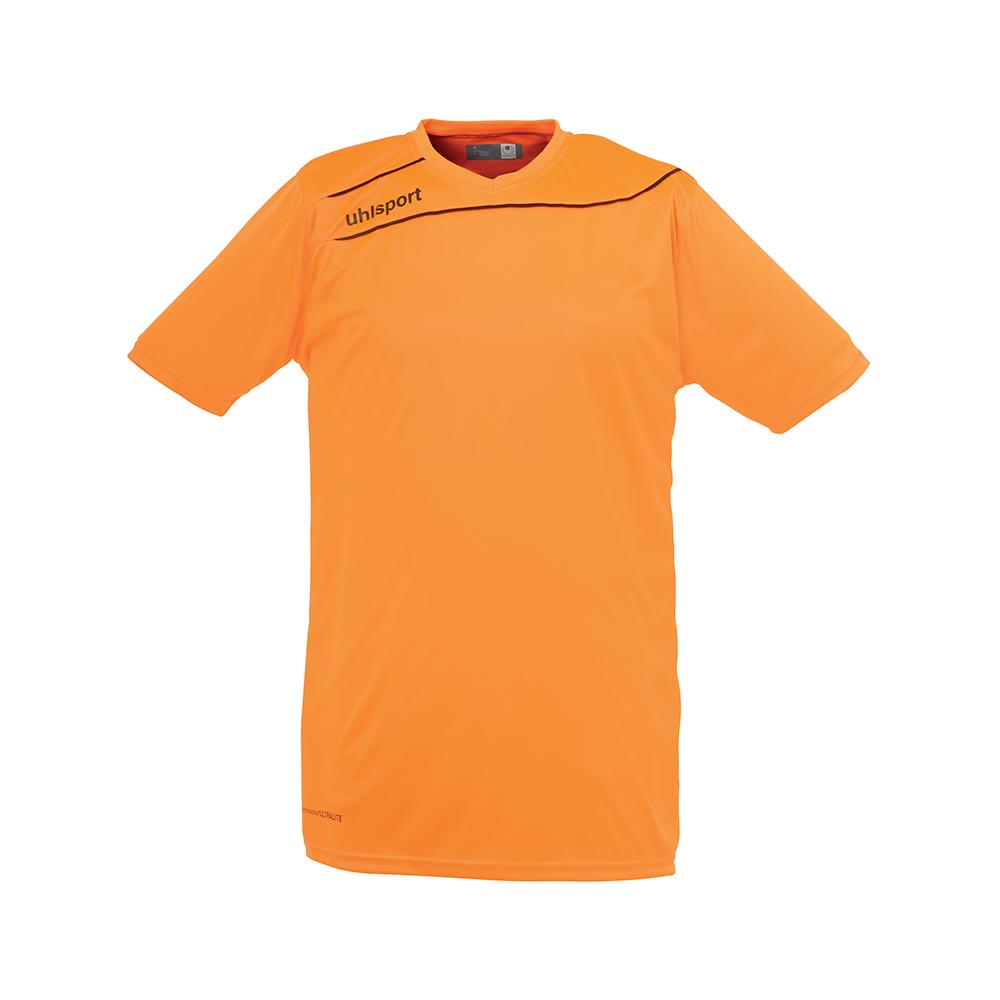 Uhlsport Stream 3.0 Shirt - Orange Fluo & Noir