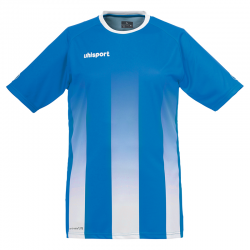 Uhlsport Stripe Shirt - Azur & Blanc