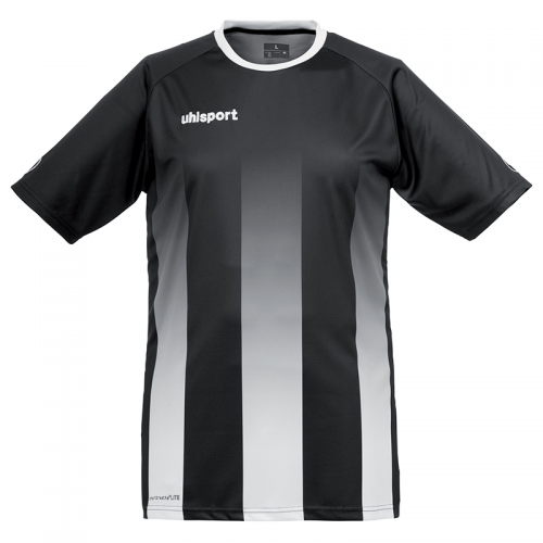 Uhlsport Stripe Shirt - Noir & Blanc