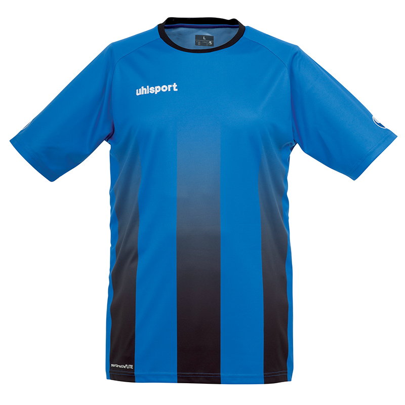 Uhlsport Stripe Shirt - Azur & Noir