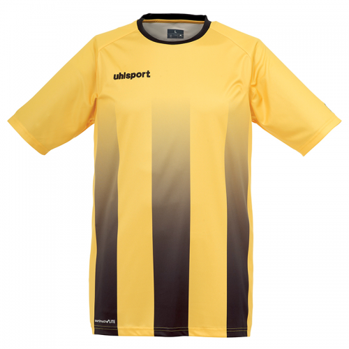 Uhlsport Stripe Shirt - Jaune & Noir