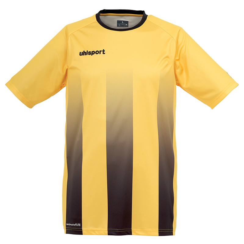 Uhlsport Stripe Shirt - Jaune & Noir