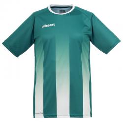Uhlsport Stripe Shirt - Vert Lagon & Blanc