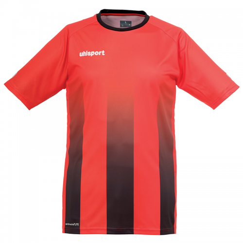 Uhlsport Stripe Shirt - Rouge & Noir