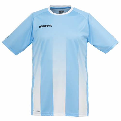 Uhlsport Stripe Shirt - Ciel & Blanc