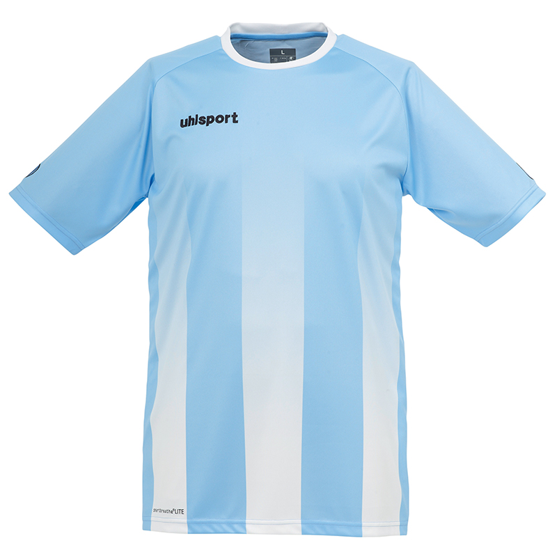 Uhlsport Stripe Shirt - Ciel & Blanc