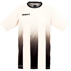 Uhlsport Stripe Shirt - Blanc & Noir