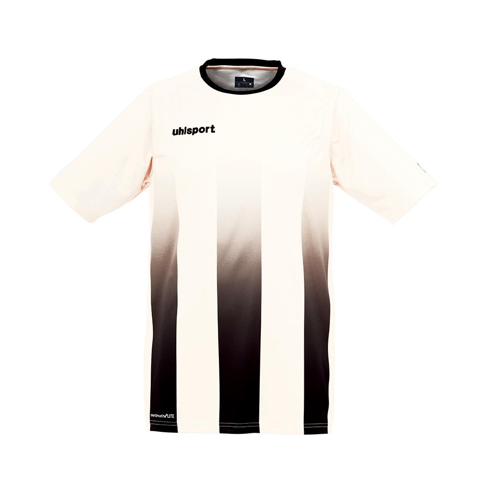 Uhlsport Stripe Shirt - Blanc & Noir