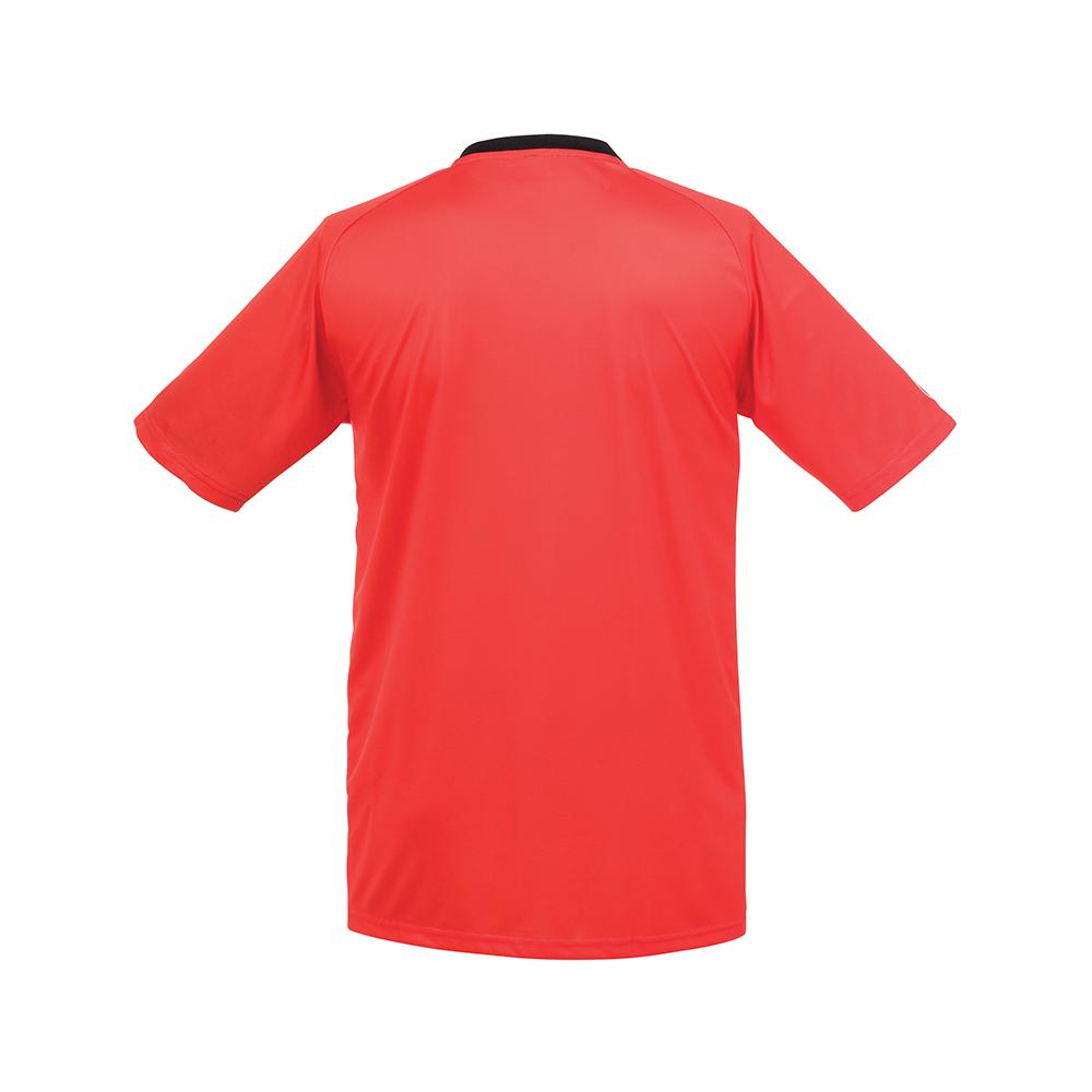 Uhlsport Stripe Shirt - Rouge & Noir - Dos