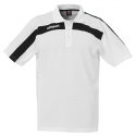 Uhlsport Liga Training Polo Shirt - Blanc & Noir