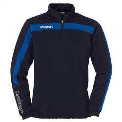 Uhlsport Liga Sweat 1/4 Zip - Marine & Azur