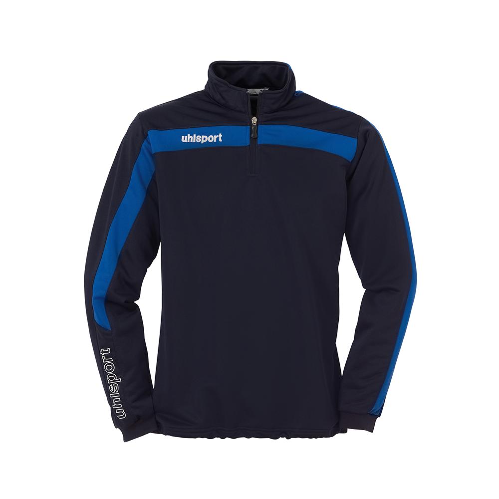 Uhlsport Liga Sweat 1/4 Zip - Marine & Azur