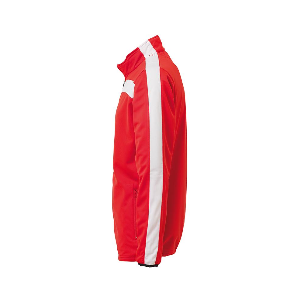Uhlsport Liga Veste Classic - Rouge & Blanc - Vue de côté