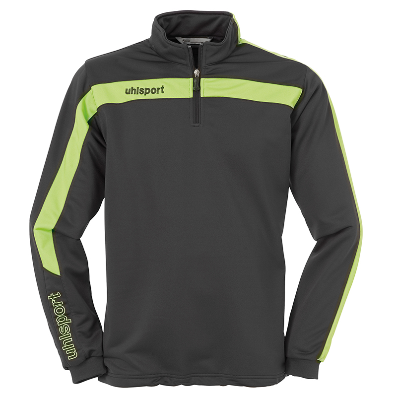 Uhlsport Liga Sweat 1/4 Zip - Anthracite & Vert