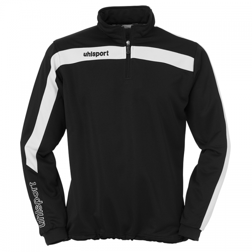 Uhlsport Liga Sweat 1/4 Zip - Noir & Blanc