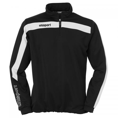Uhlsport Liga Sweat 1/4 Zip - Noir & Blanc