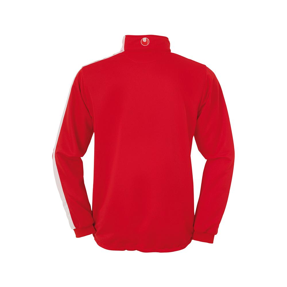Uhlsport Liga Sweat 1/4 Zip - Rouge & Blanc - Vue de dos