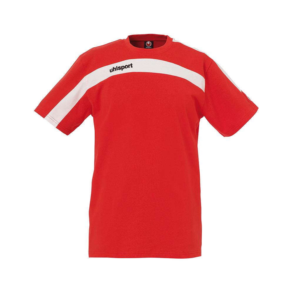 Uhlsport Liga Training T-Shirt - Rouge & Blanc
