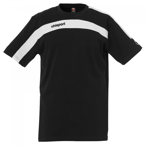Uhlsport Liga Training T-Shirt - Noir & Blanc
