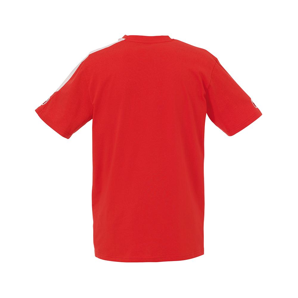 Uhlsport Liga Training T-Shirt - Rouge & Blanc - Vue de dos