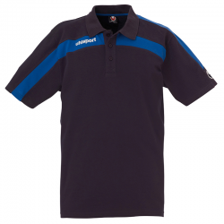 Uhlsport Liga Training Polo Shirt - Marine & Azur