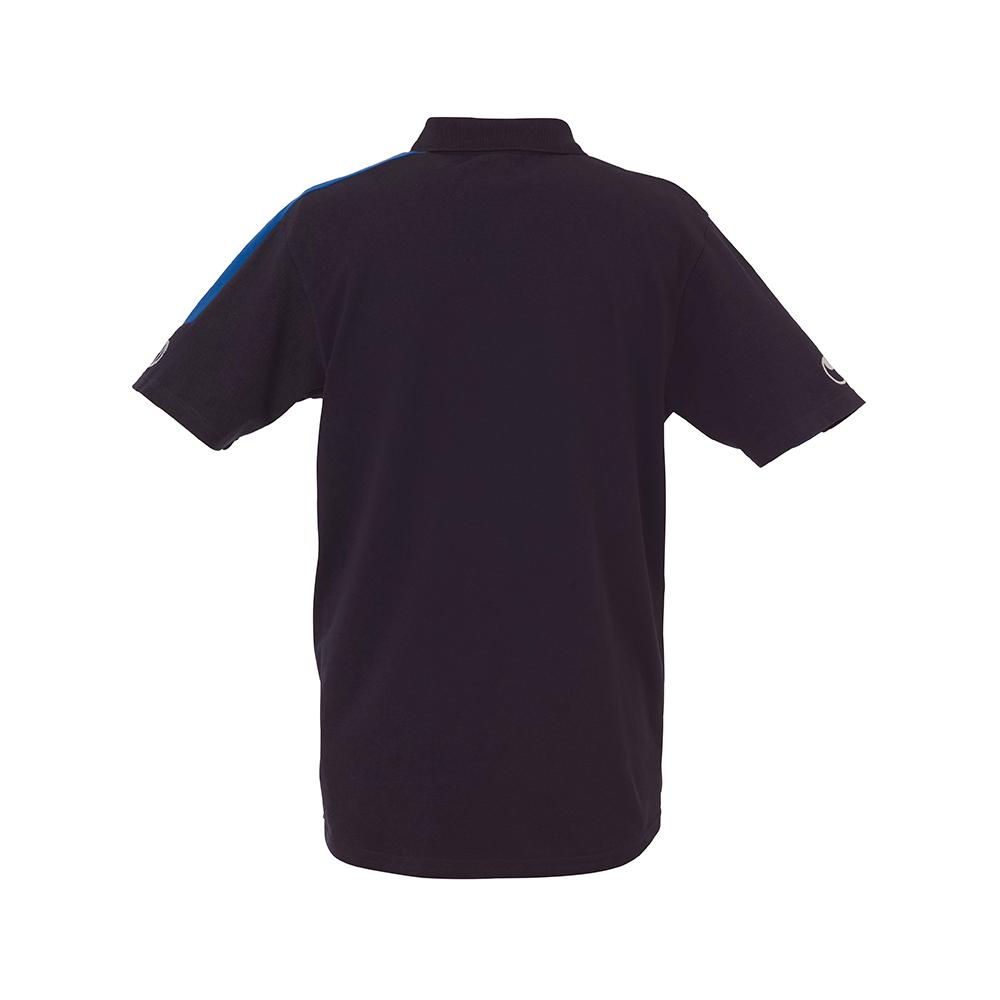 Uhlsport Liga Training Polo Shirt - Marine & Azur - Vue de dos