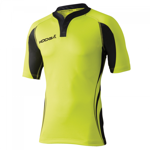 Kooga Tight Fit Curve Shirt - Lime & Noir