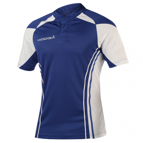 Kooga Stadium Shirt - Royal & Blanc