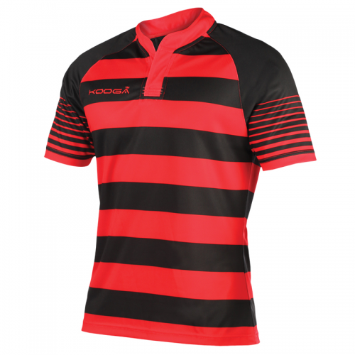 Kooga Touchline Shirt - Rouge & Noir