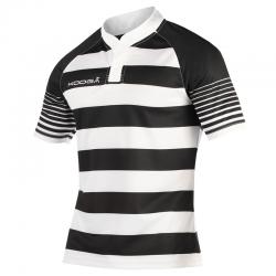 Kooga Touchline Shirt - Blanc & Noir