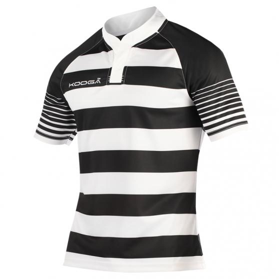 Kooga Toucline Shirt - Blanc & Noir