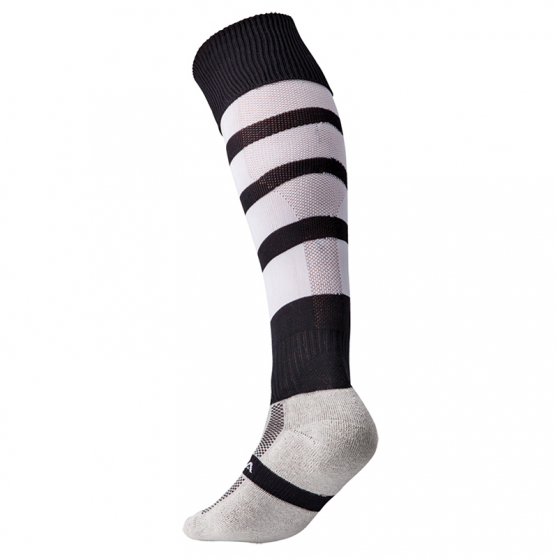 Kooga Technical Performance Sock - Noir & Blanc