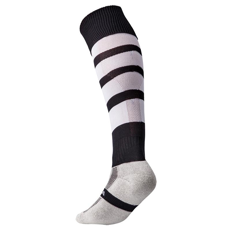 Kooga Technical Performance Sock - Noir & Blanc