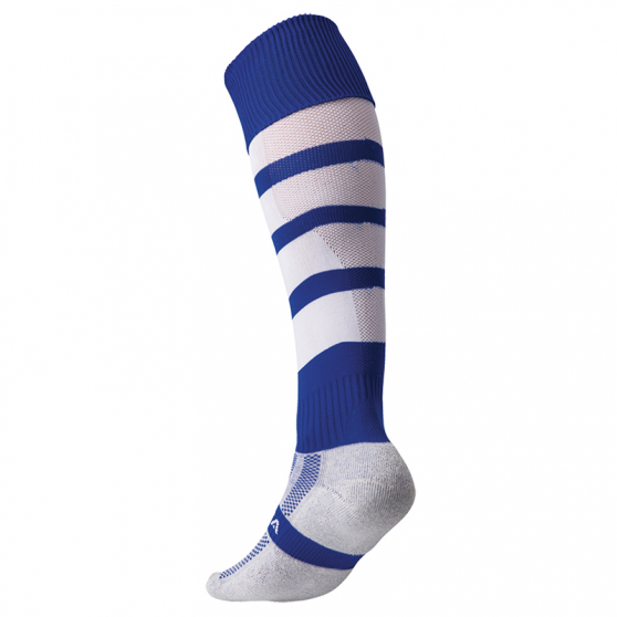 Kooga Technical Performance Sock - Royal & Blanc