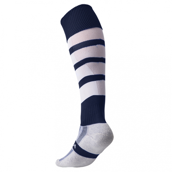 Kooga Technical Performance Sock - Marine & Blanc