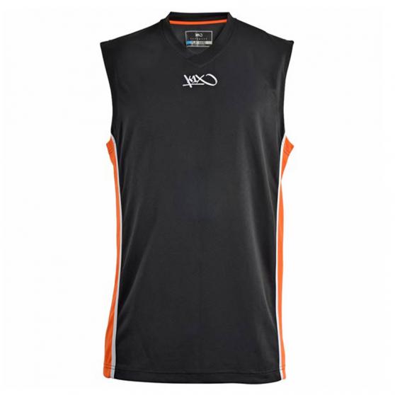 K1x League Uniform Jersey mk2 - Hardwood Collection - Noir / Orange