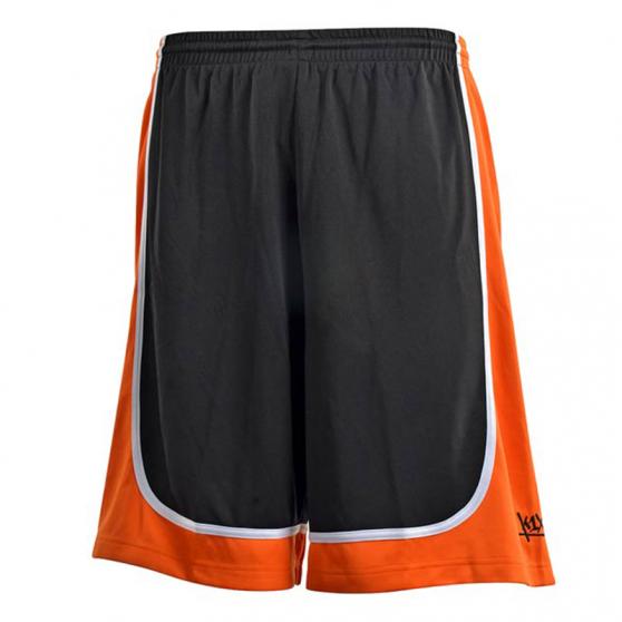 K1x League Uniform Shorts mk2 - Noir & Orange