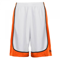 K1x League Uniform Shorts mk2 - Blanc & Orange