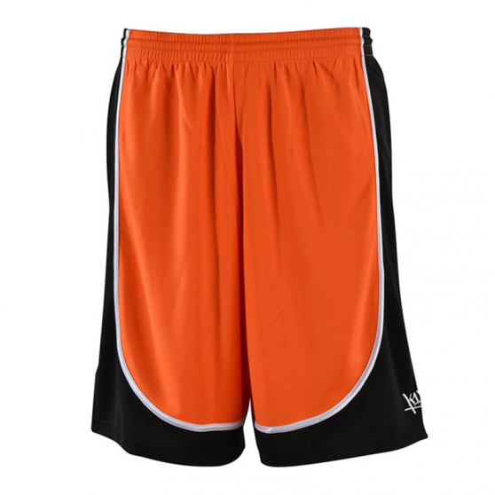 K1x League Uniform Shorts mk2 - Orange & Noir