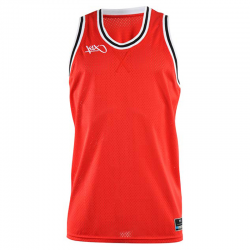 K1x Big Hole Mesh Double X Jersey - Rouge & Noir