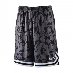 K1x Big Hole Mesh Double X Shorts - Noir Camo