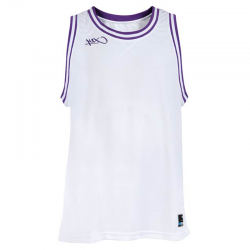 K1x Double X Jersey - Blanc & Violet