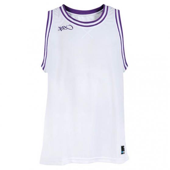 K1x Double X Jersey - Blanc & Violet