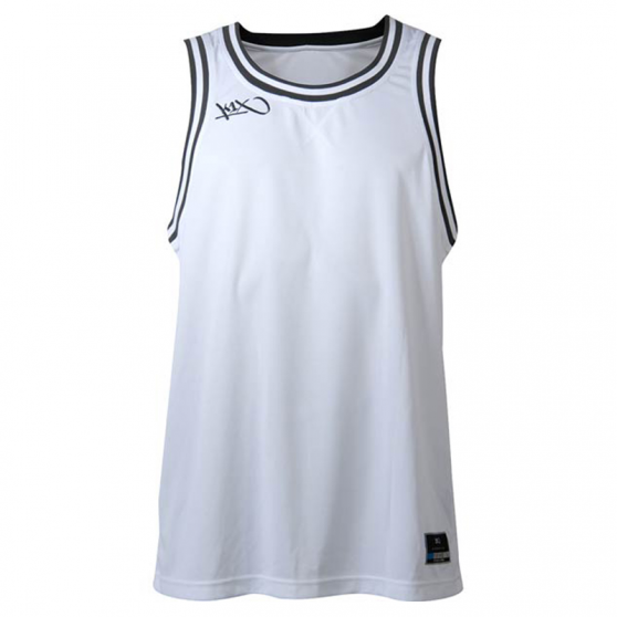 K1x Double X Jersey - Blanc & Anthracite